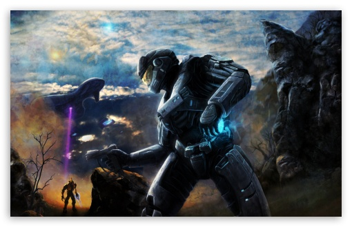 Halo Concept Art HD wallpaper for Standard 43 54 Fullscreen UXGA XGA 510x330