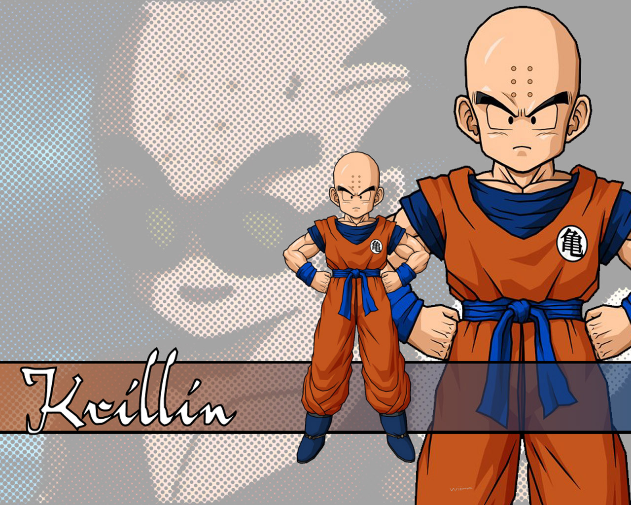Krillin Dragonball Anime Wallpaper 1280x1024 Full HD Wallpapers 1280x1024