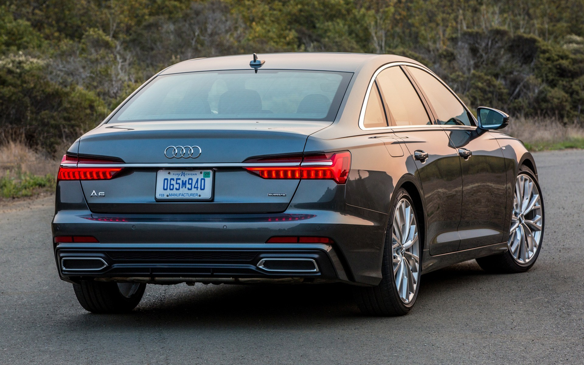 2019 Audi A6 Sedan S Line Us Wallpapers And Hd Images Car Pixel 1920x1200