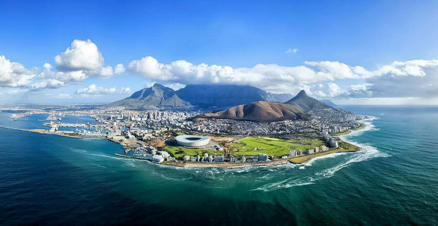Point Stadium in the foreground and Table Mountain in the background 900x465