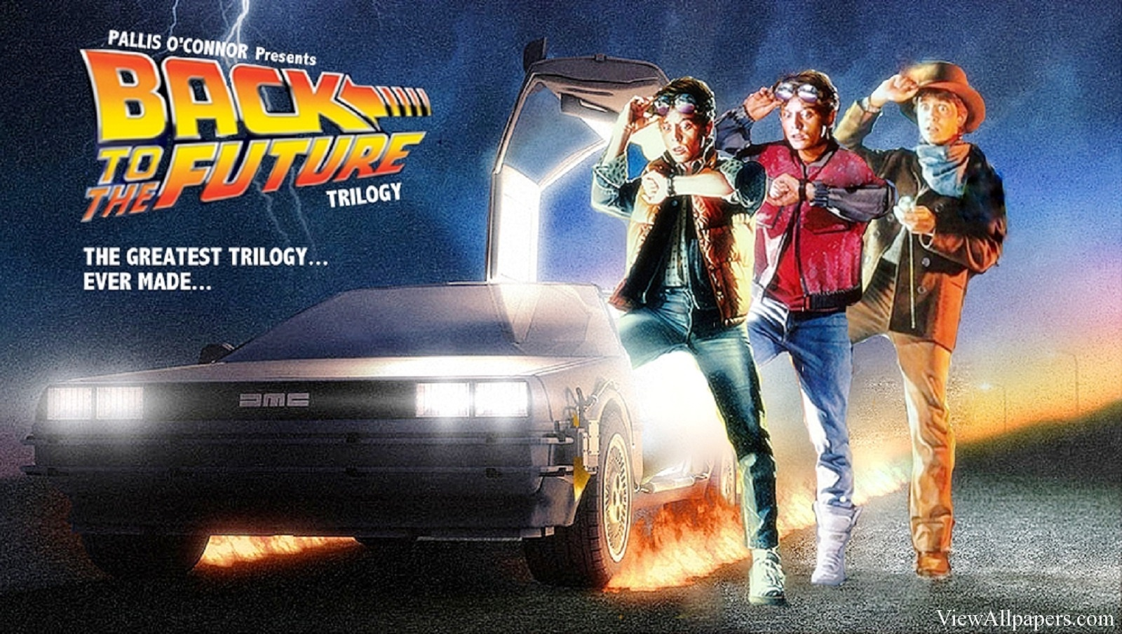 Back To The Future Back To 2015 High Resolution Wallpaper 1600x905