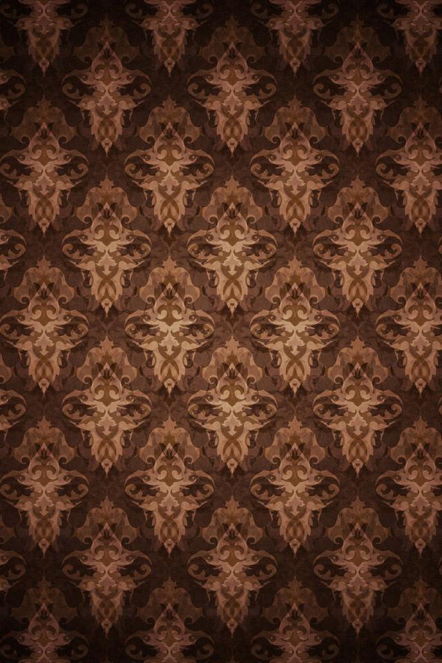 Wallpaper Abccdffcaebca Raw Inspiring Brown Pattern Wallpaper 640x960