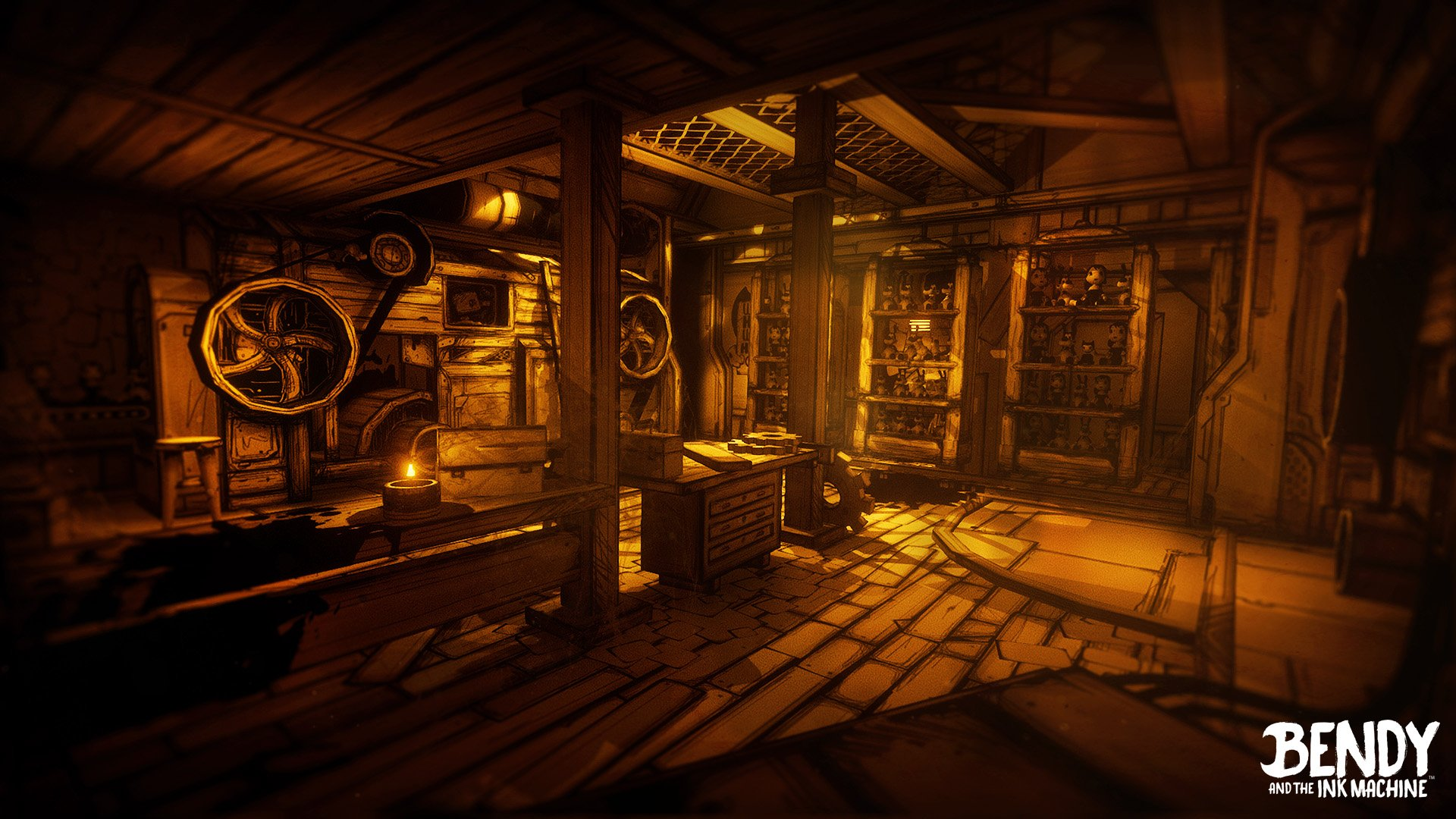 Free Download Bendy And The Ink Machine Is Coming To Xbox One This