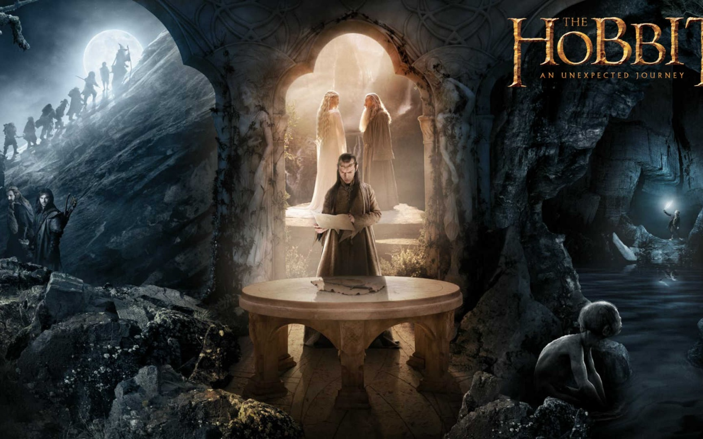 1440x900 The Hobbit   Elrond desktop PC and Mac wallpaper 1440x900