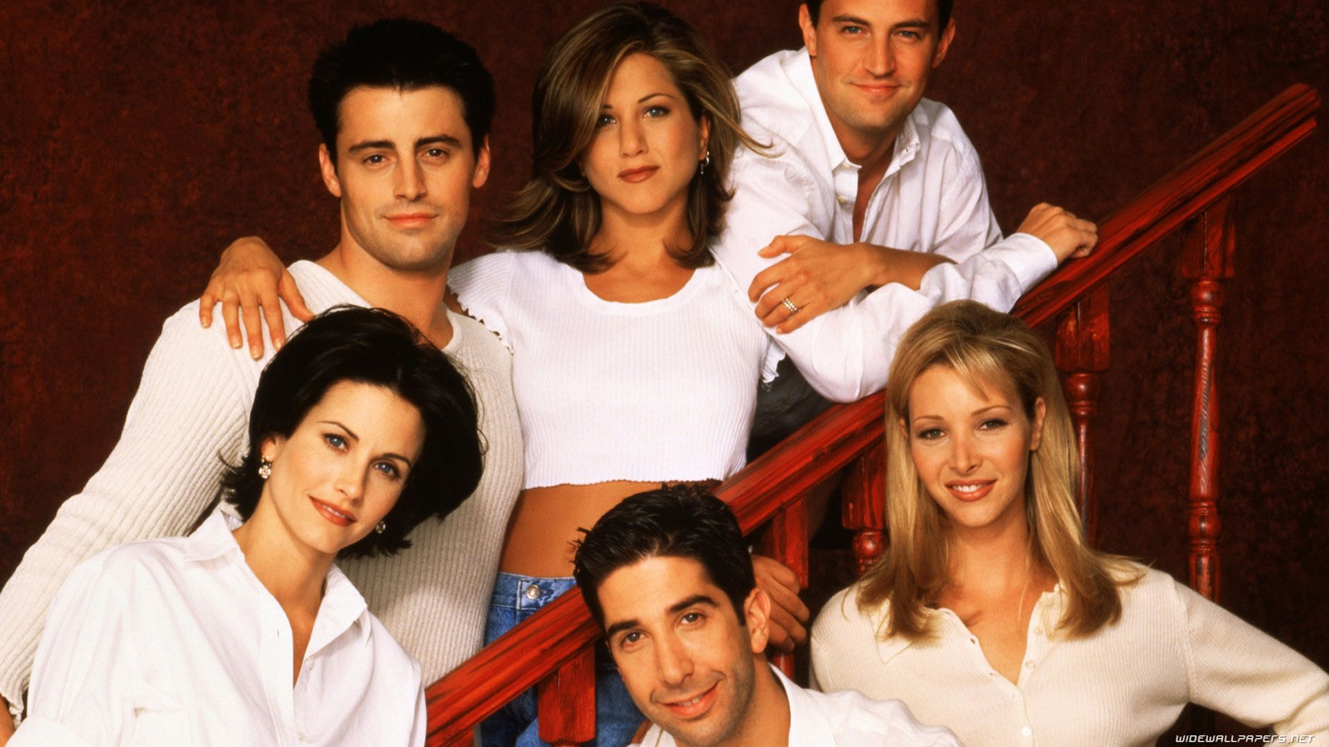 Friends Wallpaper HD Characters Comedy Series TV 1920x1080