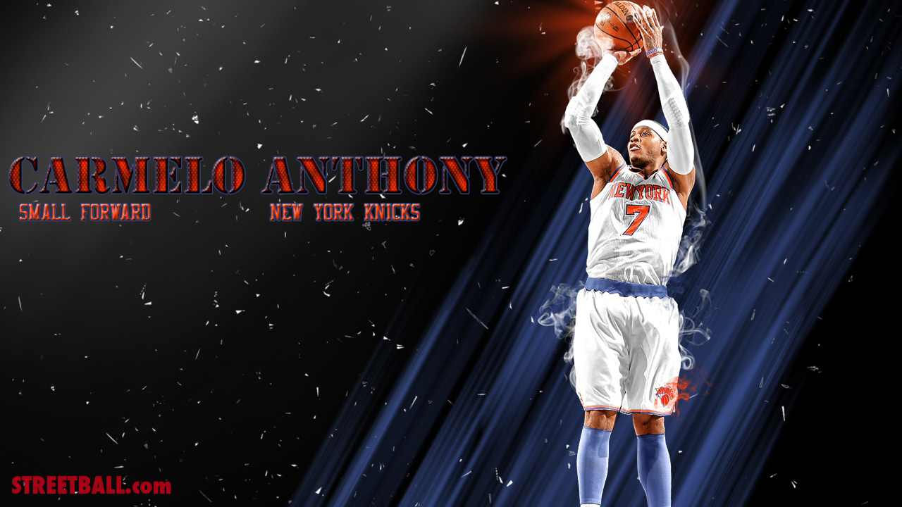 Carmelo Anthony Wallpapers Knicks 1280x720