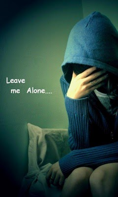 Leave Me Alone Sad Quotes QuotesGram 240x400