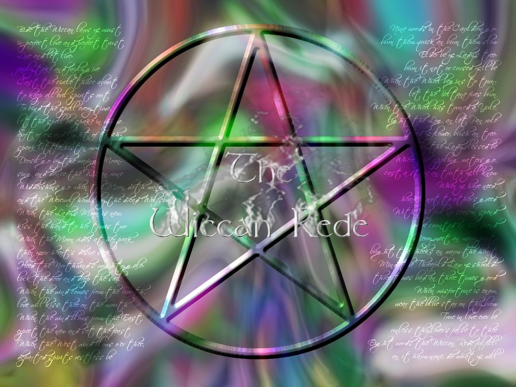 Wallpaper wiccan rede 1024x768