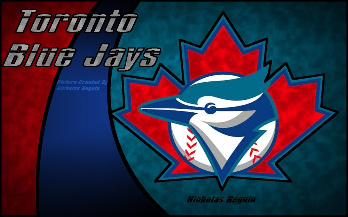 Toronto Blue Jays Computer Background by NicholasReguin 1131x707