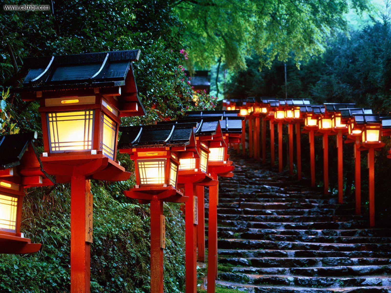 Known places Kibune Shrine Kyoto Japan desktop wallpaper nr 4213 1600x1200
