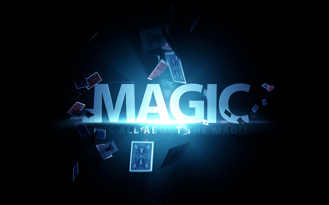 Its all about the magic   wallpaper by MichalNowak 1131x707