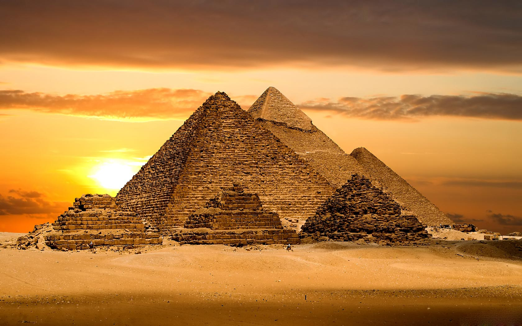 Egyptian Pyramids Wallpapers Egyptian Pyramids Backgrounds Egyptian 1680x1050