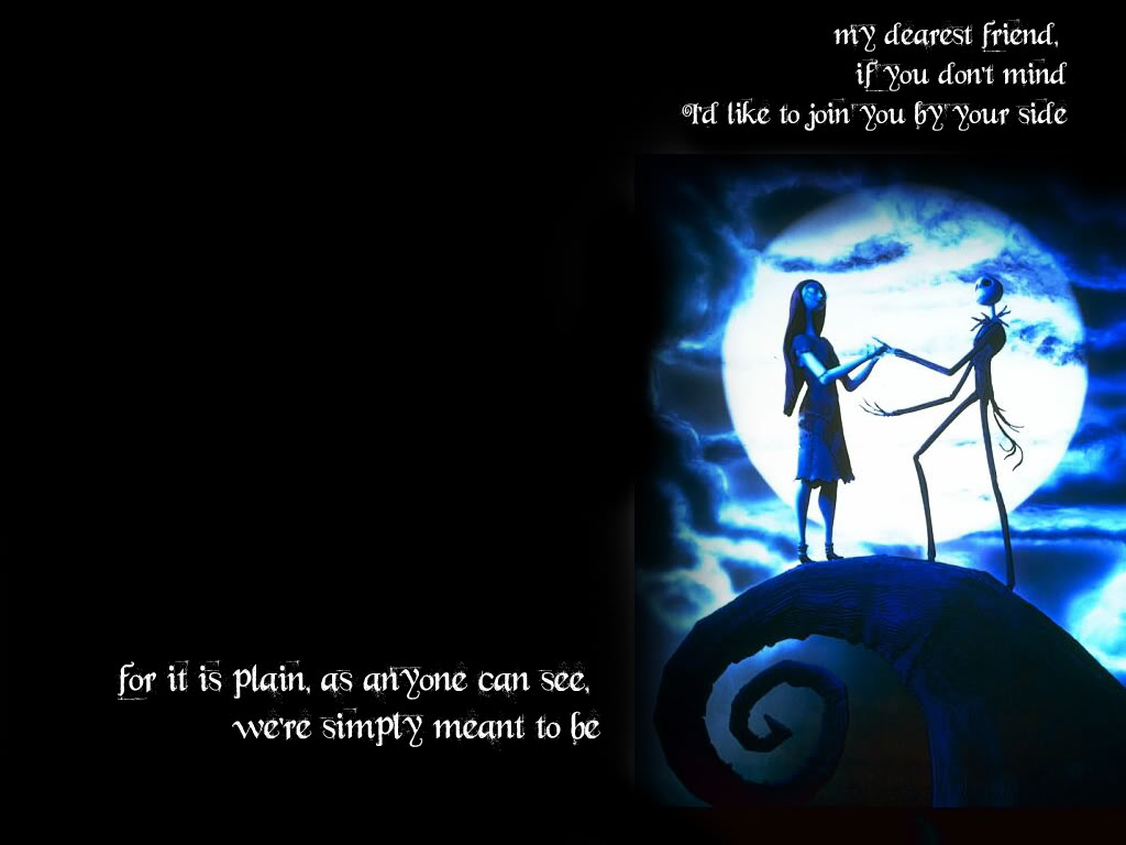 Jack And Sally Graphics Code Nightmare Before Christmas Jack 1024x768