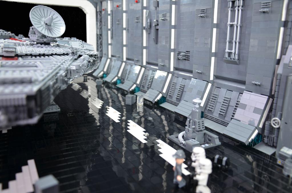 43 Death Star Hangar Wallpaper On Wallpapersafari