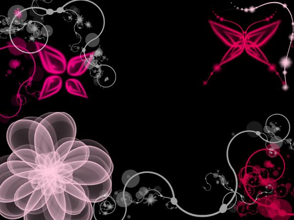 Pink and black wallpaper pink and black wallpapers tedlillyfanclub 600x450