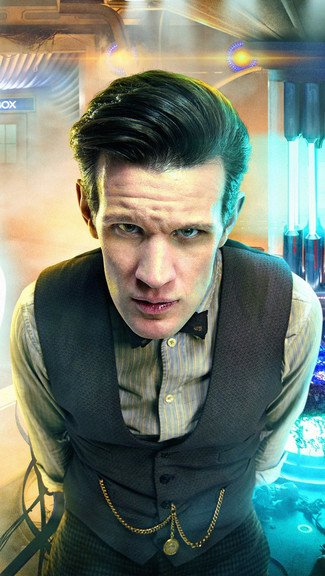 Doctor Who   Matt Smith iPhone 5C 5S wallpaper 325x576