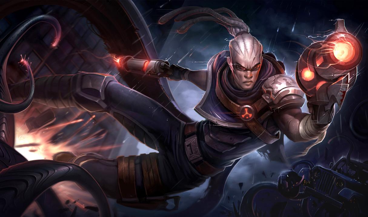 Lucian   League of Legends Wallpapers 1215x717