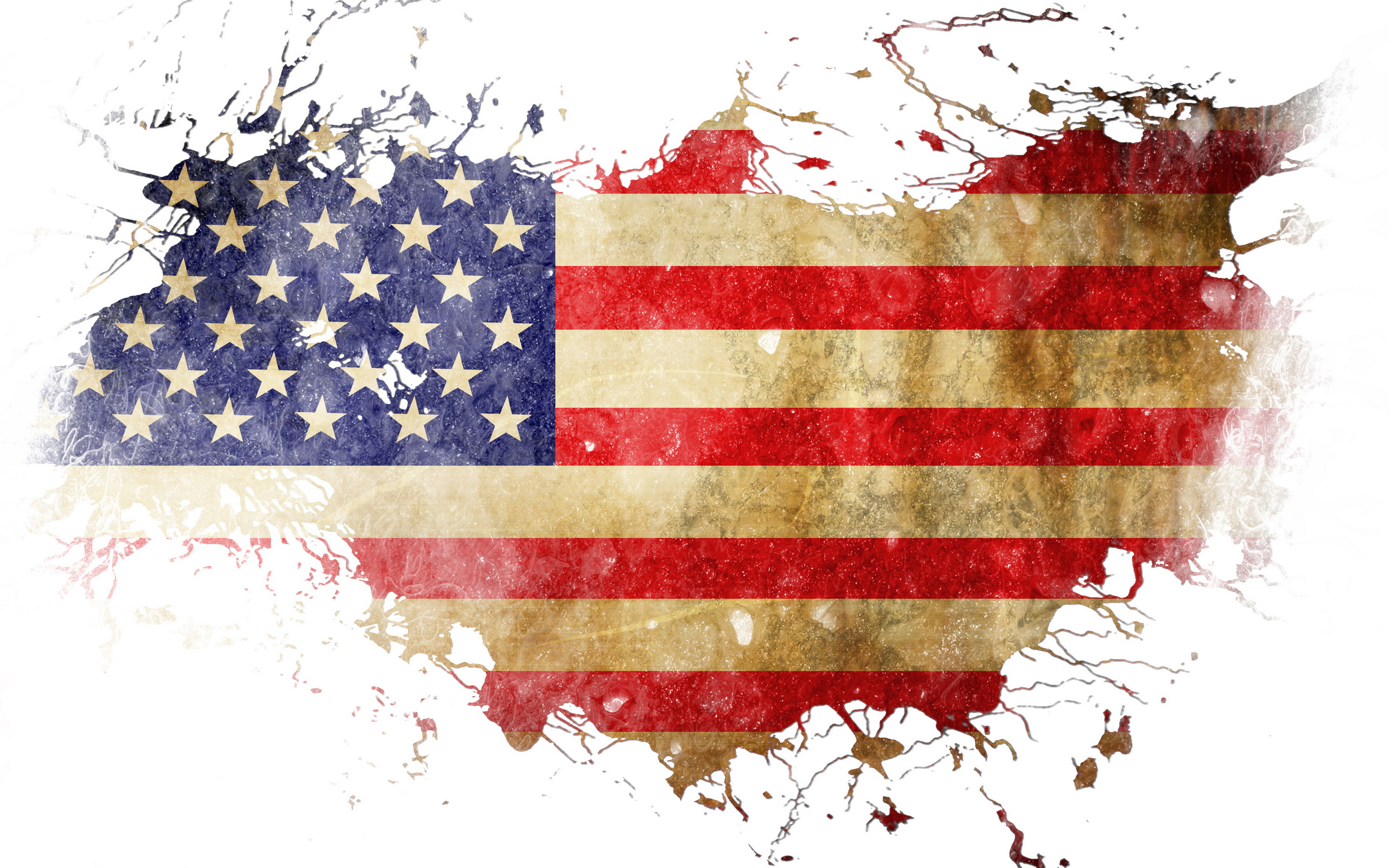Pics Photos   Pictures American Usa Flag Background Hd 2560x1600