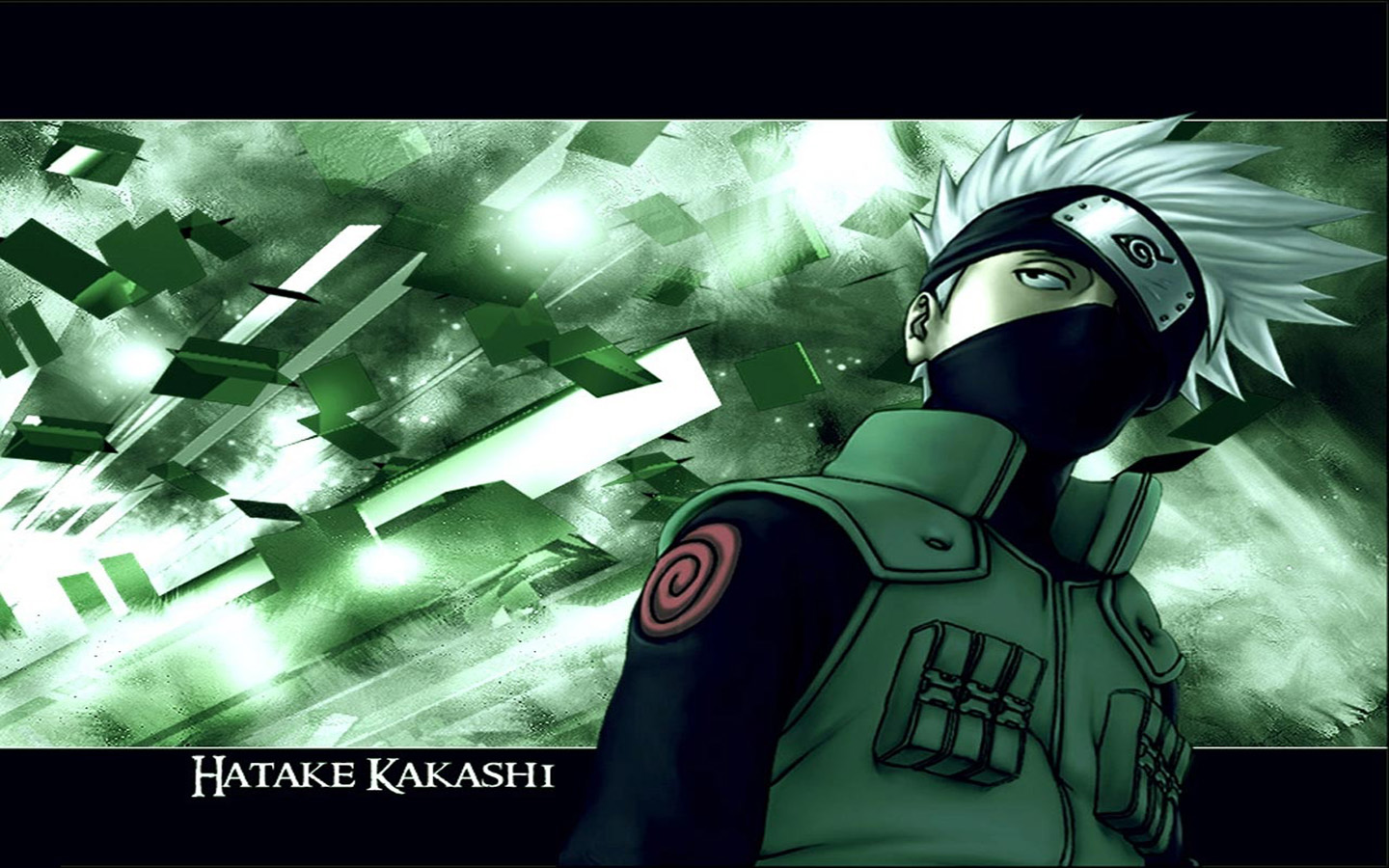 Download the Naruto anime wallpaper titled Hatake Kakashi 1440x900