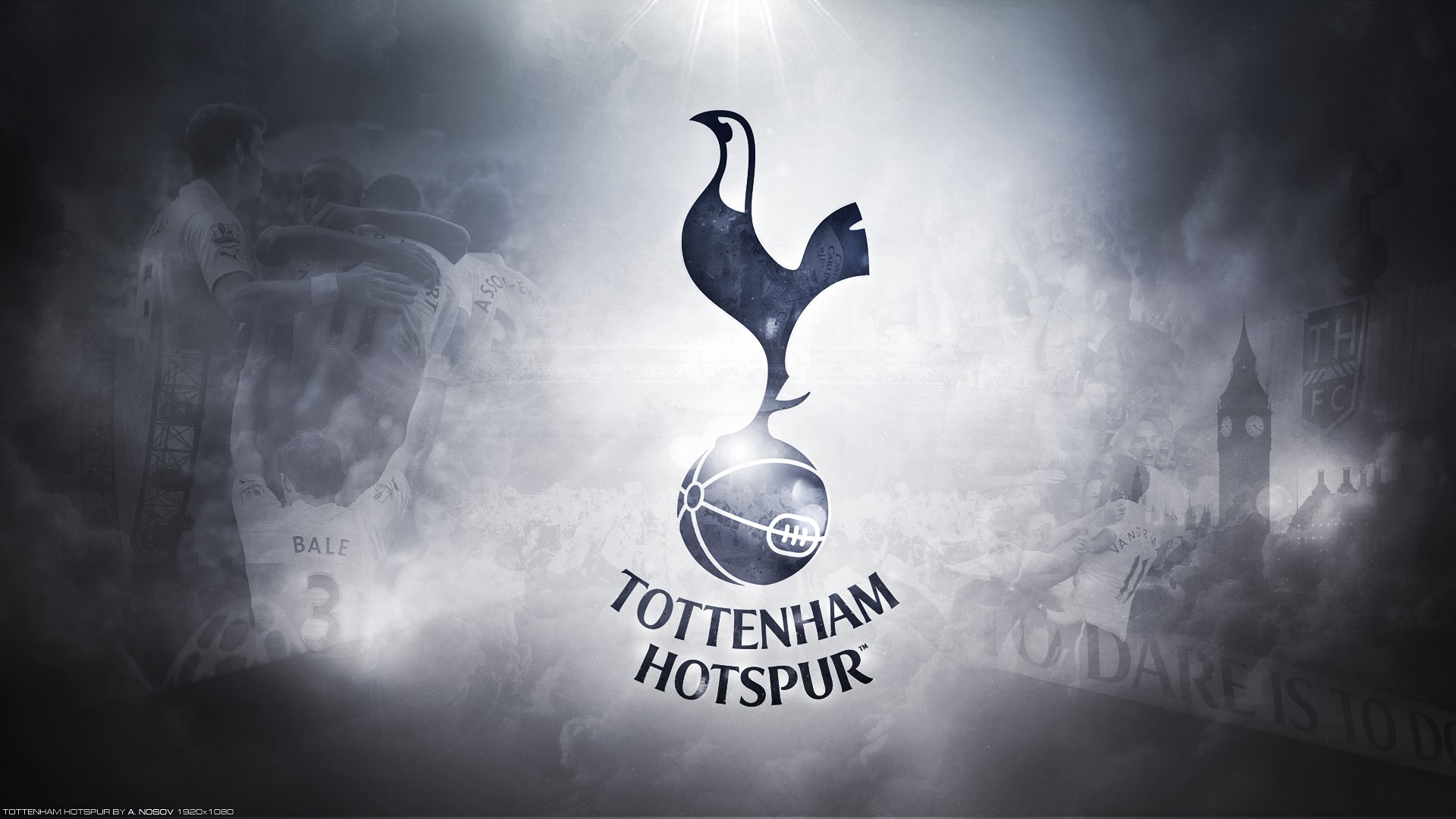 FC Football Logo HD Wallpaper Tottenham Hotspur FC Football Logo 1920x1080