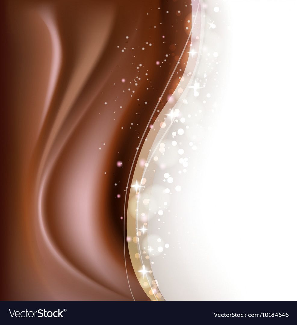 Chocolate brown background Royalty Vector Image 987x1080