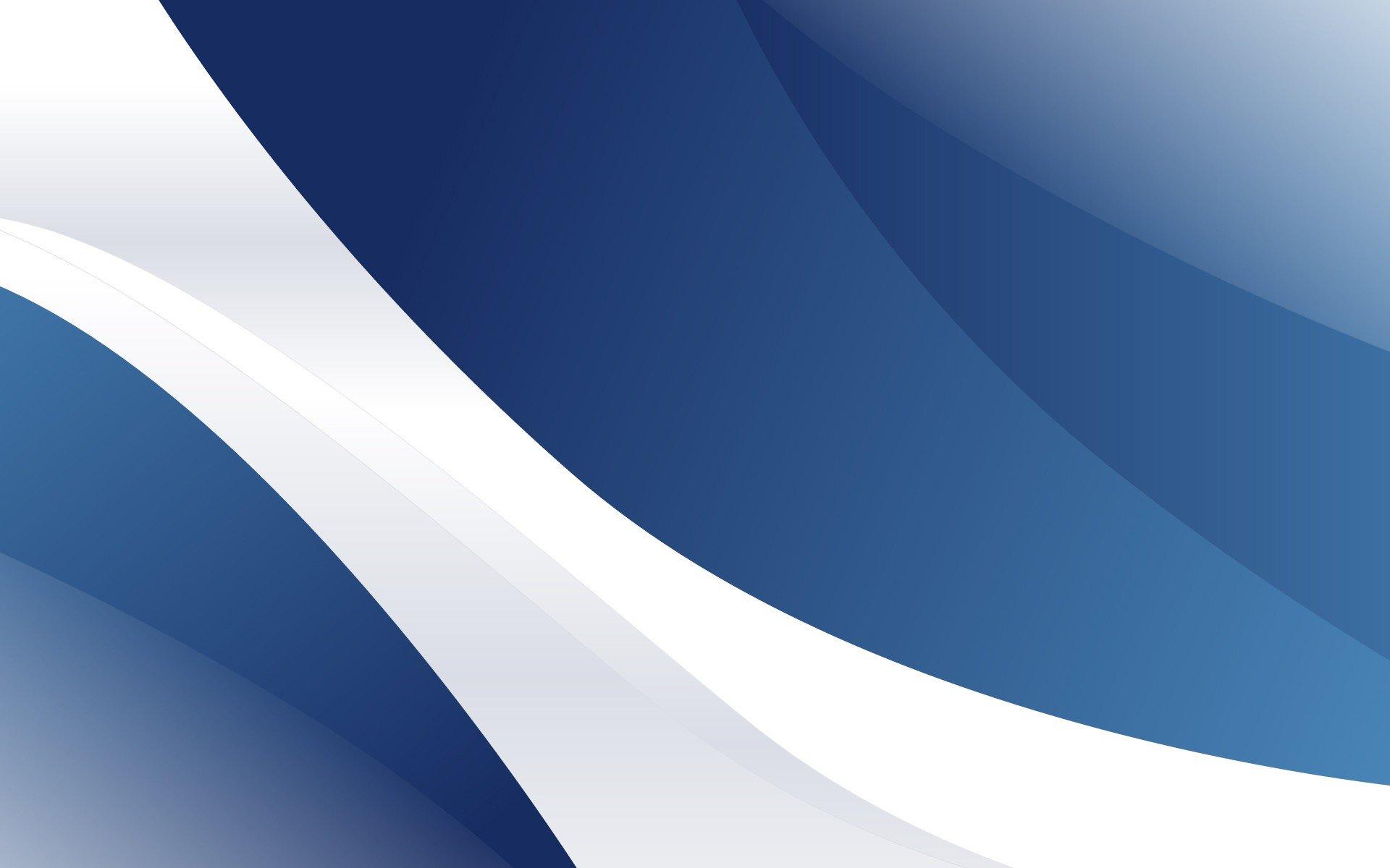 Hd Wallpaper 1920x1080 Black Blue: Blue And White HD Wallpaper