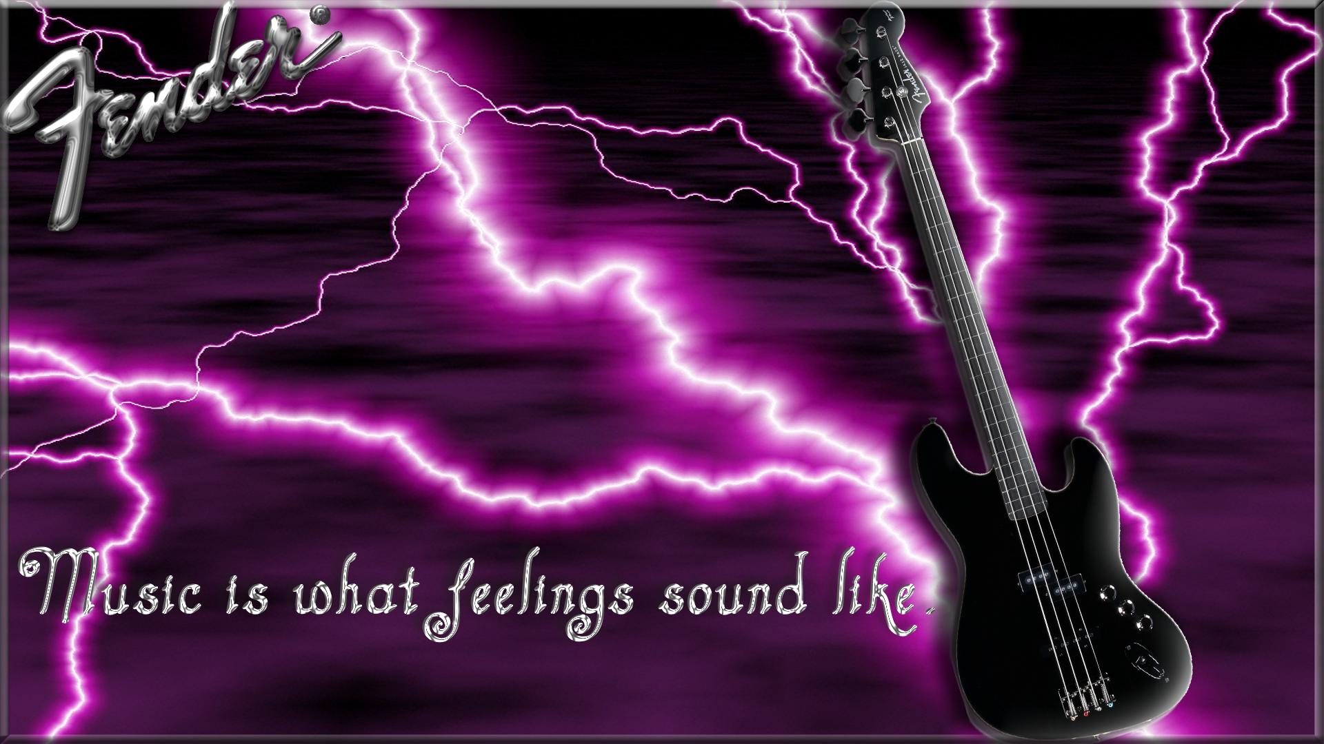 Black Fender Bass Guitar Computer Wallpapers Desktop Backgrounds 1920x1080