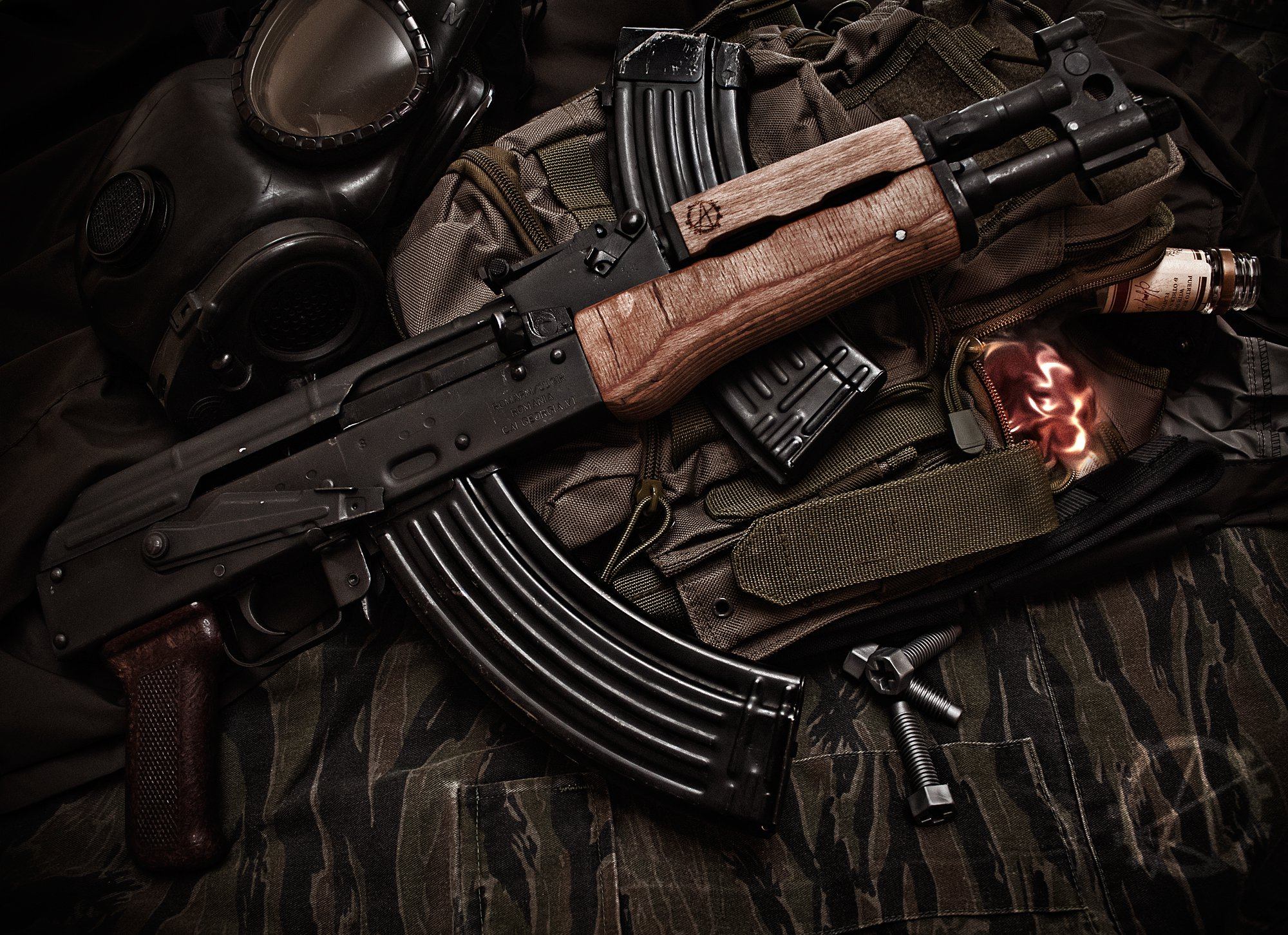 Ak 47 HD Wallpapers 2000x1451