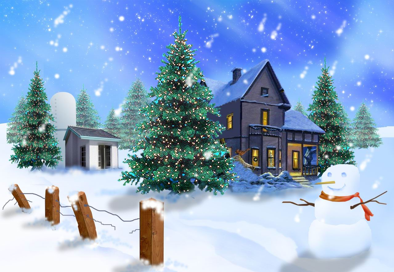 Free Download Top 10 Christmas Snow Wallpaper And Backgrounds All