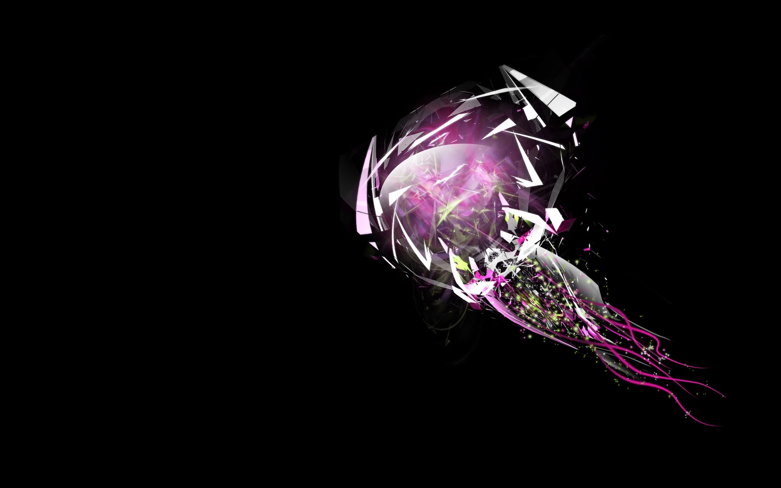 Abstract purple digital diamond hd wallpaper The Wallpaper Database 1600x1000