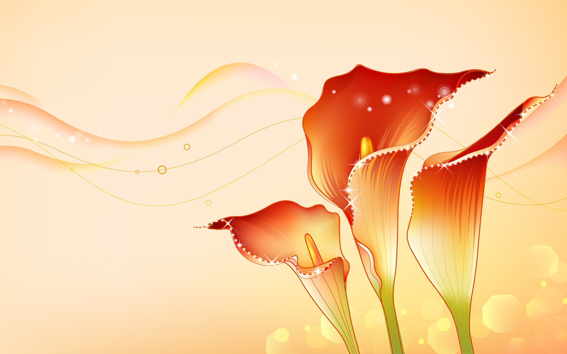 Abstract Hqpictures Designs Flowers Photocombo Design HD wallpapers 1920x1200