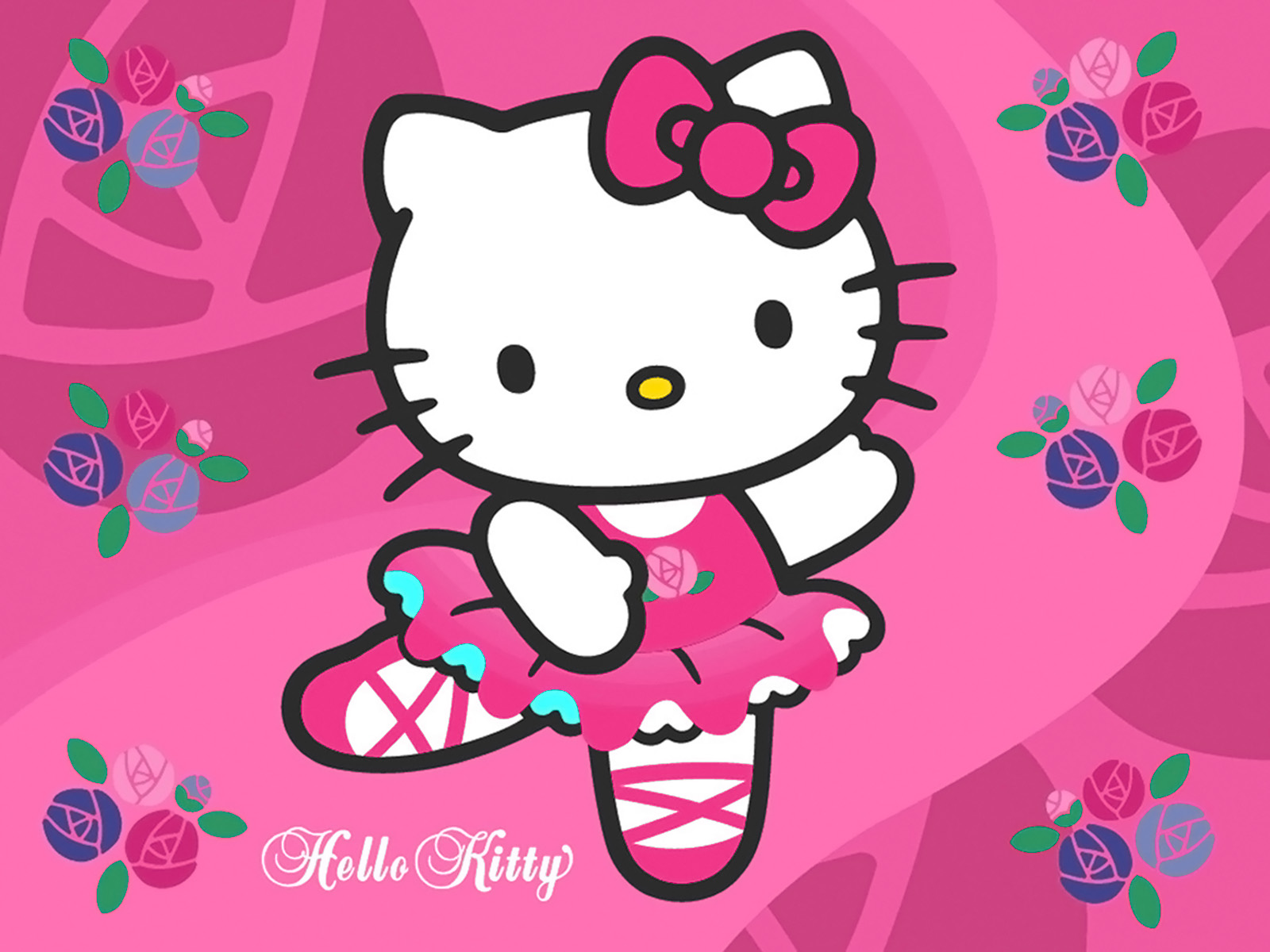 46 ] Purple Hello Kitty Wallpaper On WallpaperSafari