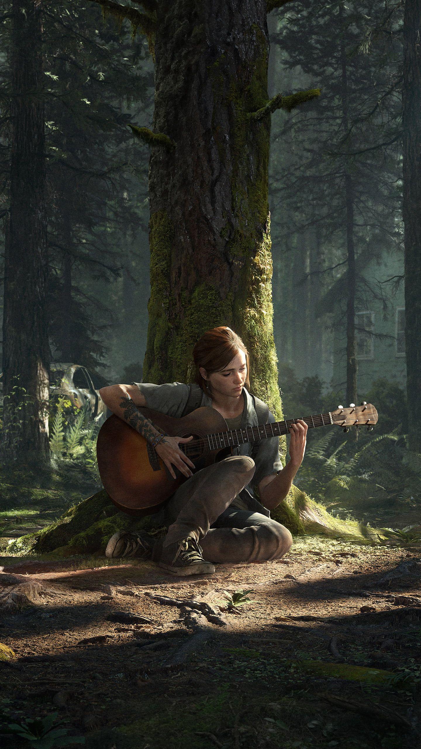 Naughty Dog the last of us part II PlayStation Ellie Ashley 1440x2560