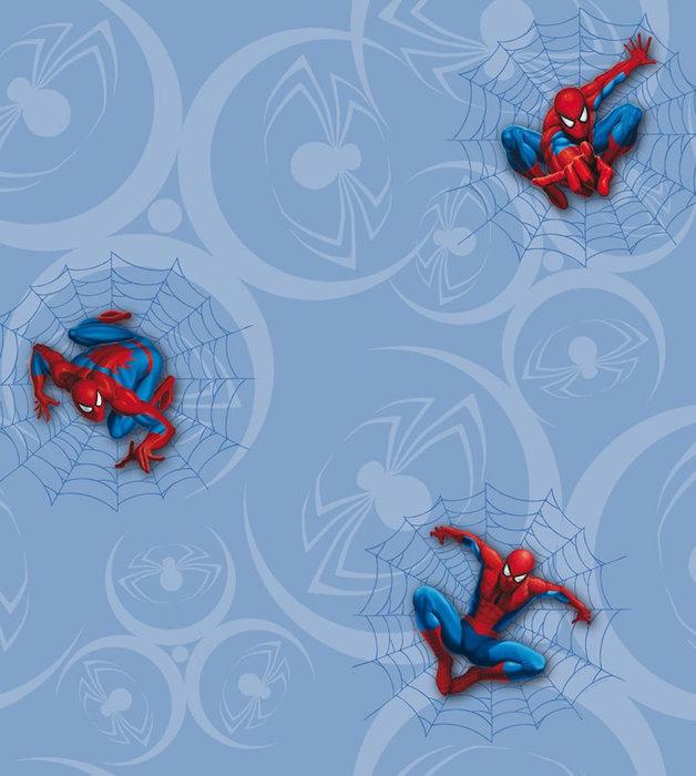 Childrens Rooms Spiderman Spiderman Wallpaper   Blue 628x700