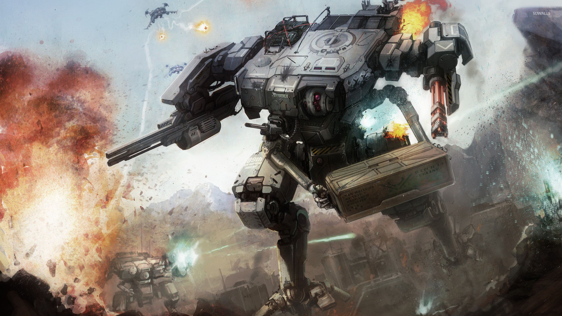 Mechwarrior Battletech Wallpaper 1920x1080 Pictures 1920x1080