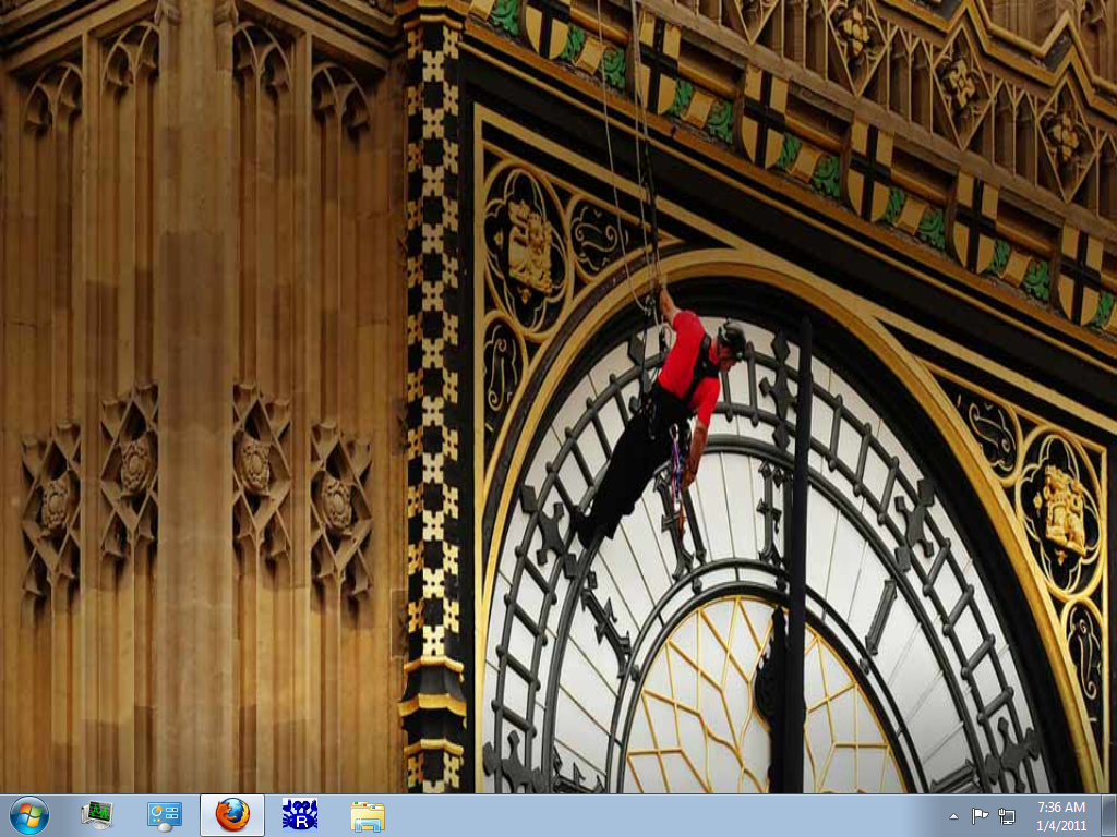 Bing image of the day as desktop background You can also enable 1024x768