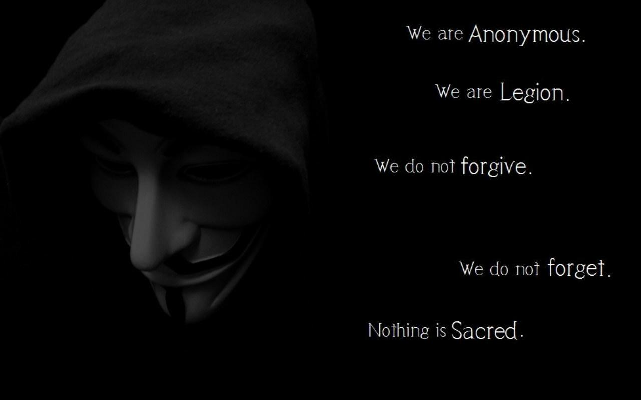 Anonymous wallpaper full hd 1280x800