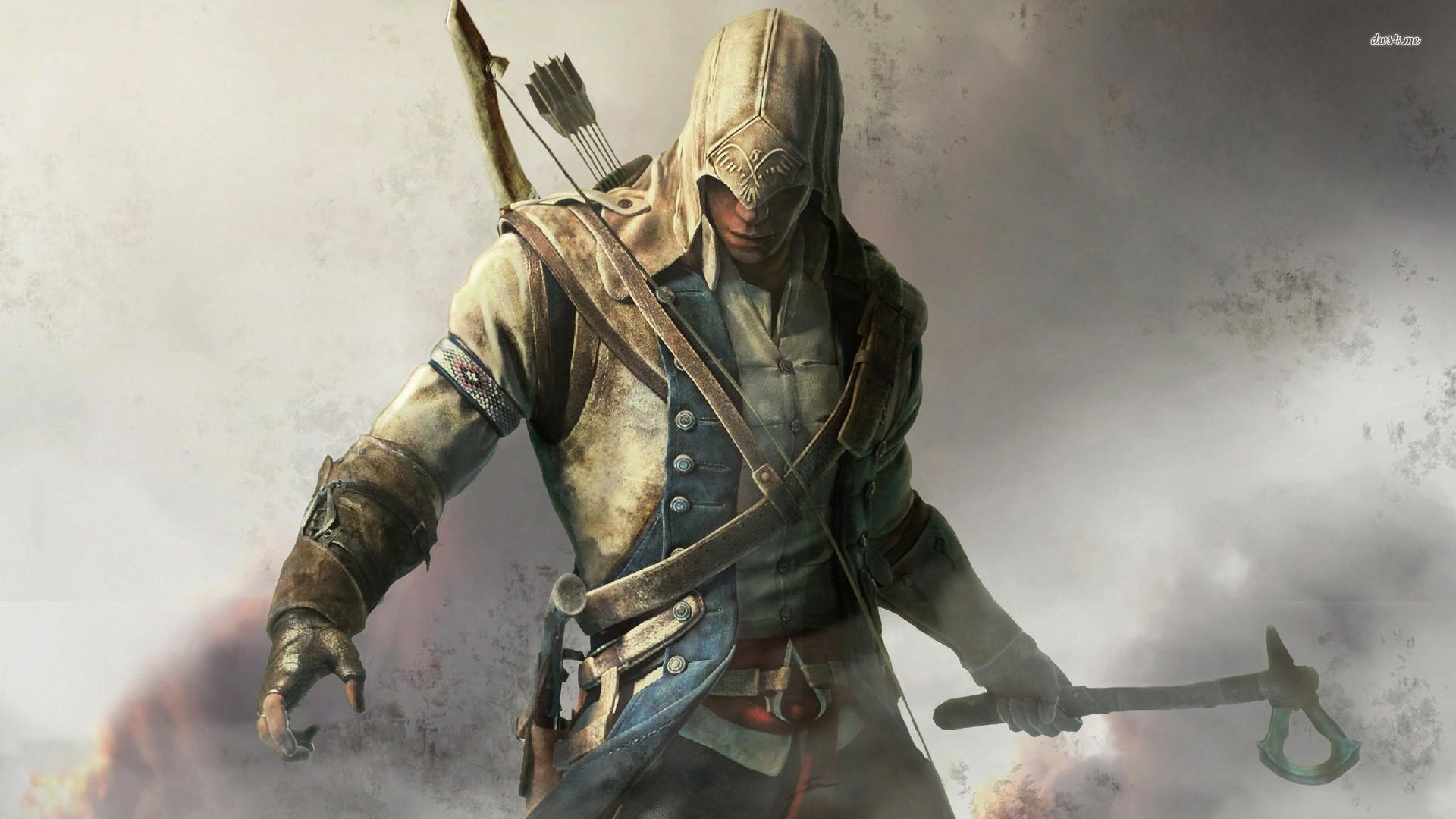 Assassins creed 3 wallpaper 1920x1080 wallpapersafari games assassins creed assassins creed iii voltagebd Gallery