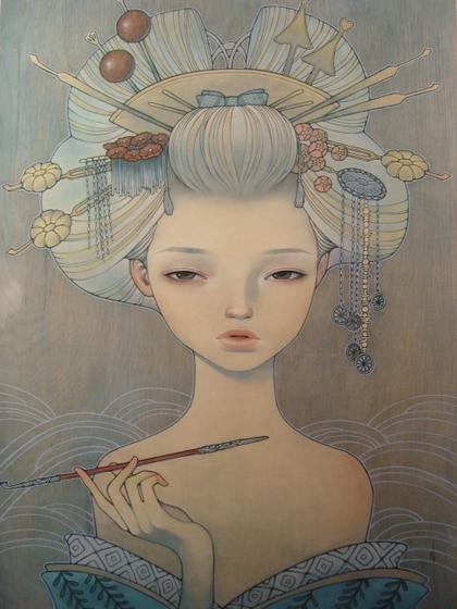 audrey kawasaki 1944x2592 wallpaper Comics Artists Audrey Kawasaki HD 420x560