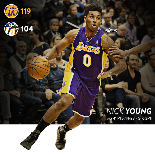 Nick Young Wallpaper Lakers 500x500