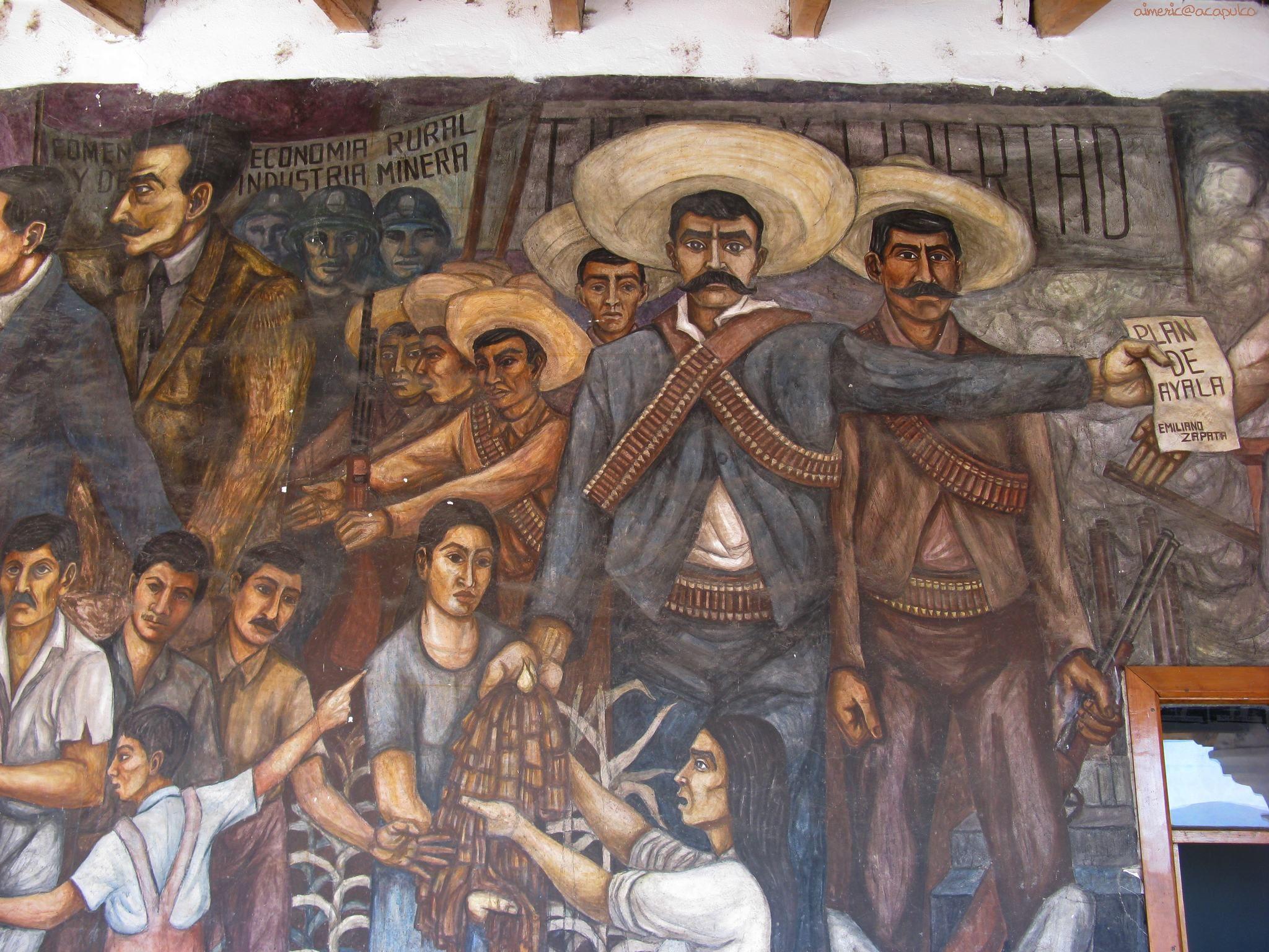 Emiliano Zapata Dual Screen Wallpapers Latino art Art 2048x1536