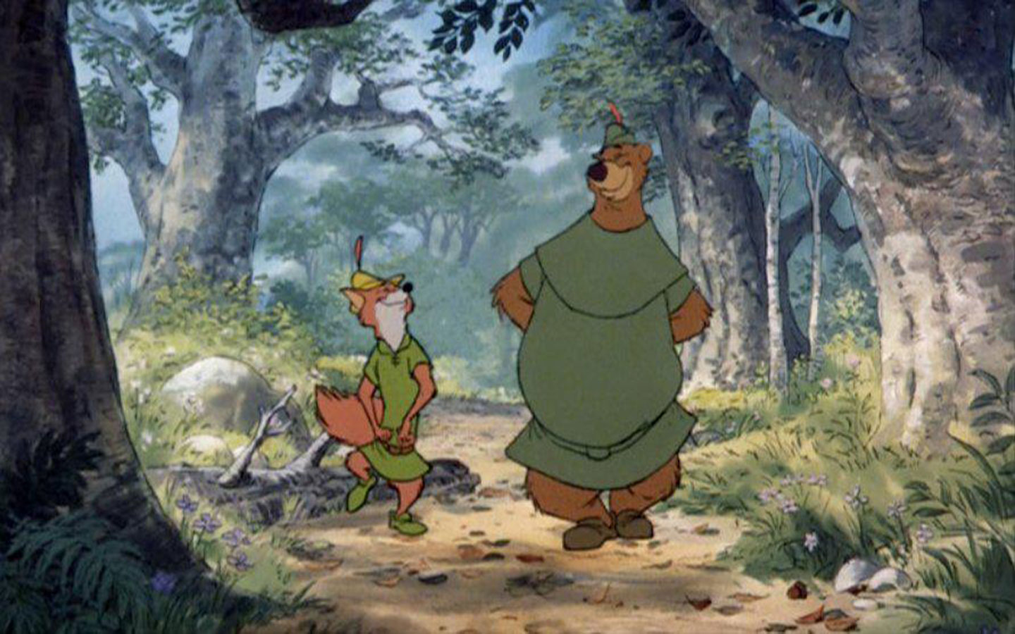 Robin hood wallpaper wallpapersafari - Hood cartoon wallpaper ...