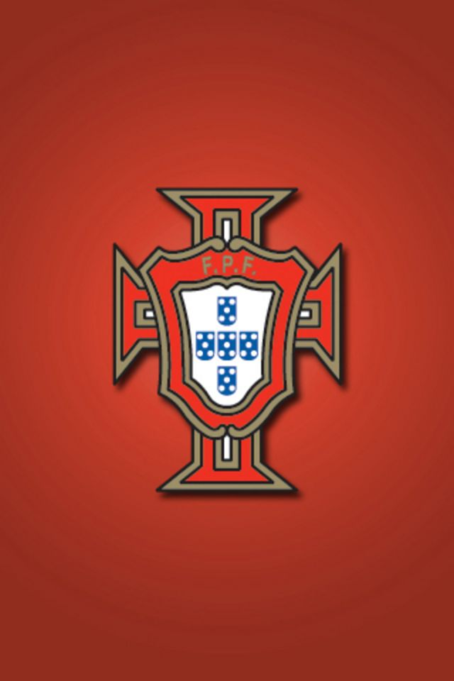 Portugal Football Logo iPhone Wallpaper HD 640x960