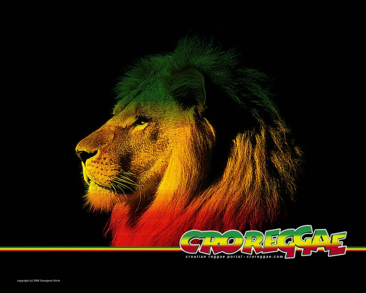 Rasta Lion Desktop Backgrounds 1280x1024