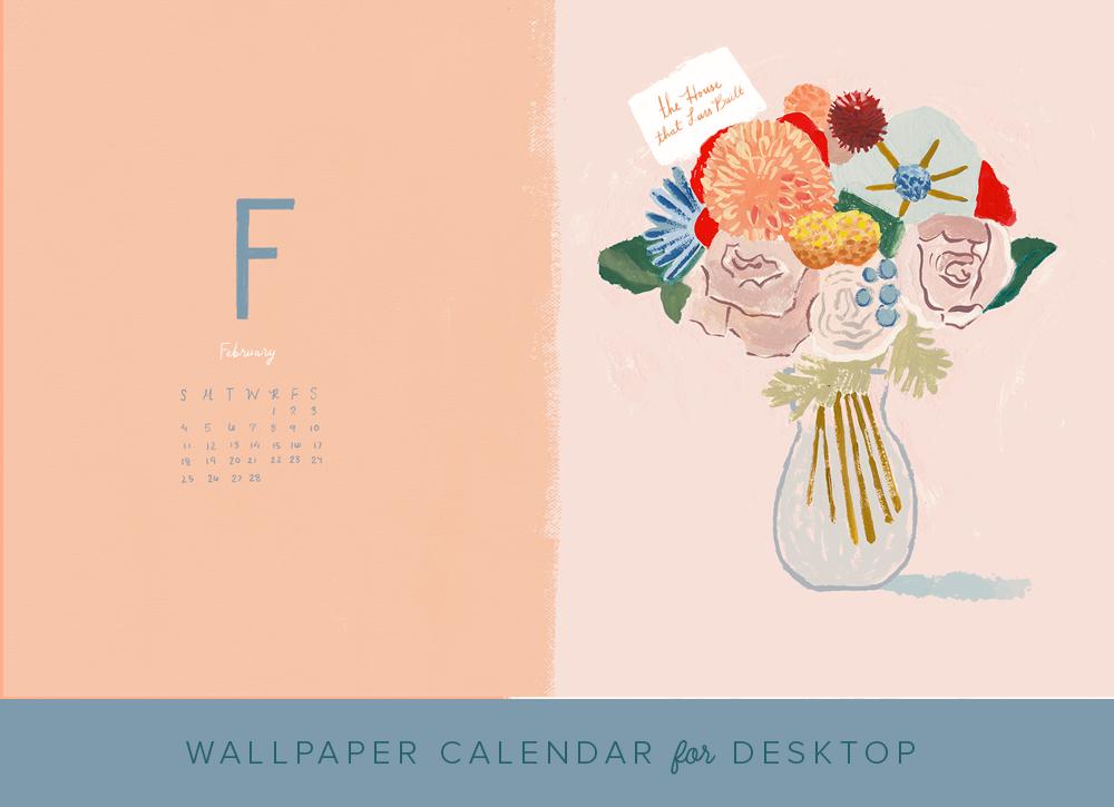 February 2018 Desktop Wallpaper   The House That Lars Built 1000x725