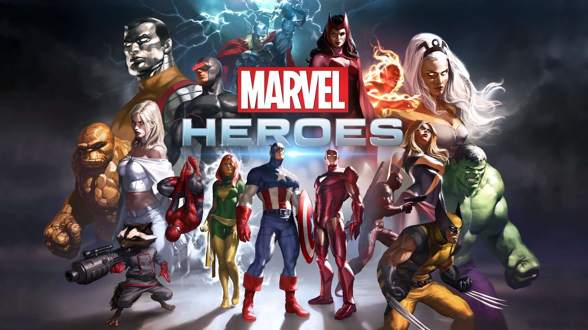 Wallpaper Marvel Heroes Game HD Wallpaper 1080p Upload at March 16 1920x1080