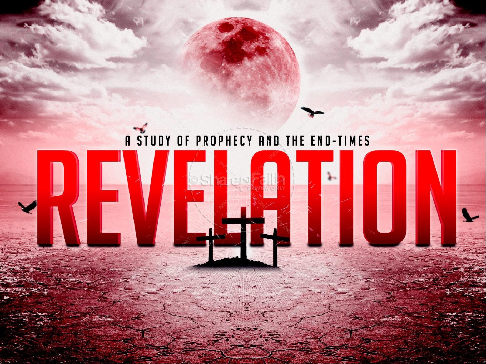 End Time Prophecy Book Of Revelation Church Powerpoint Graphics 1600x1200