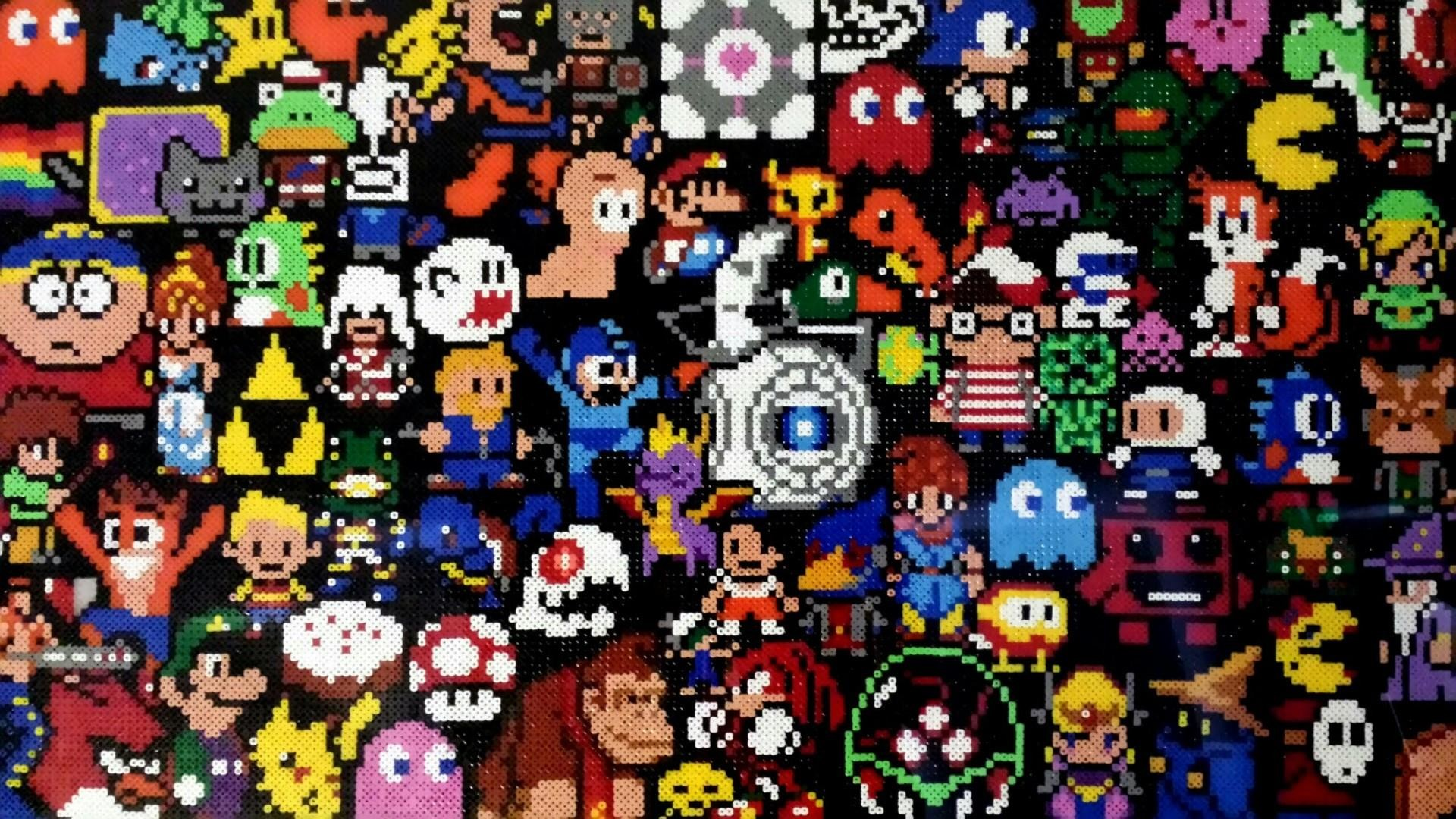 Retro Games Wallpaper posted by Samantha Johnson 1920x1080
