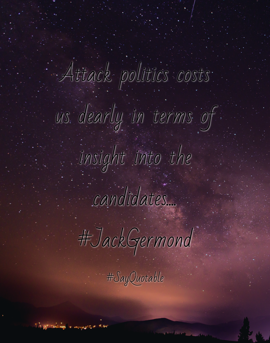 Quotes about Attack politics costs us dearly in terms of insight 880x1118
