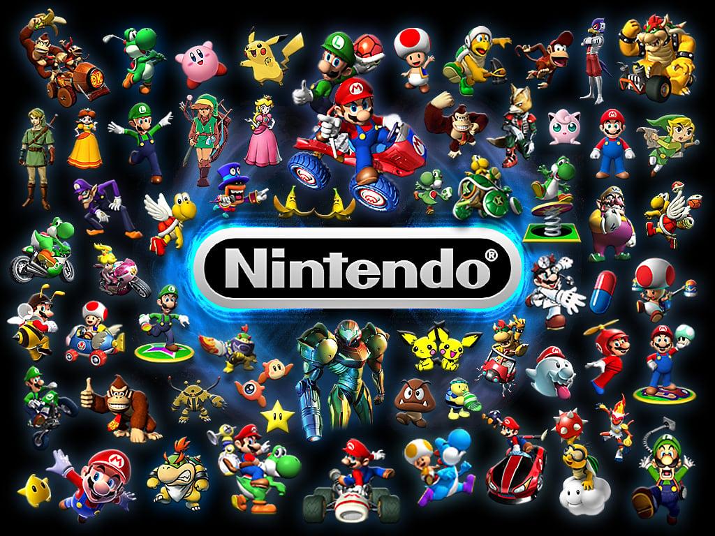 49] Nintendo Desktop Wallpaper on WallpaperSafari 1024x768